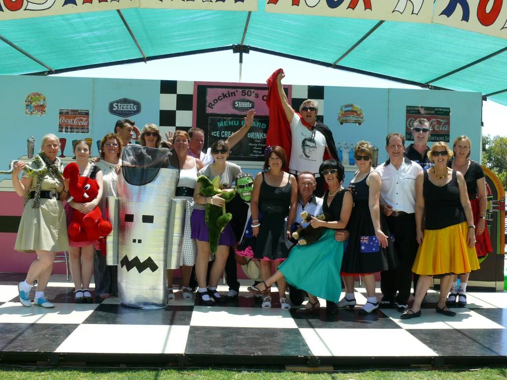 2012 Australia Day Demo Team