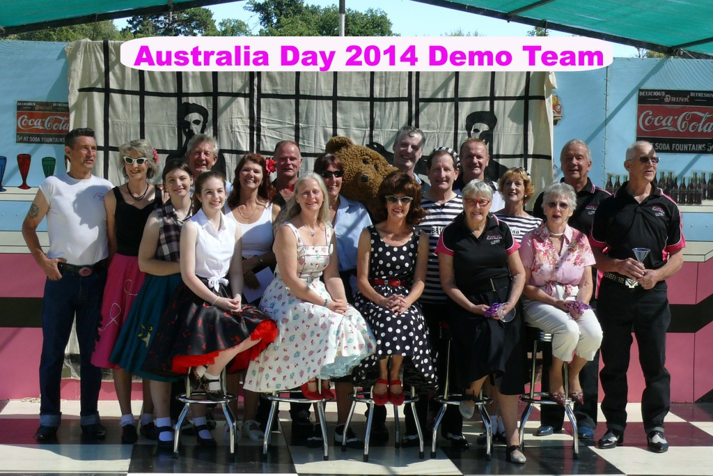 2014 Australia Day Demo Team