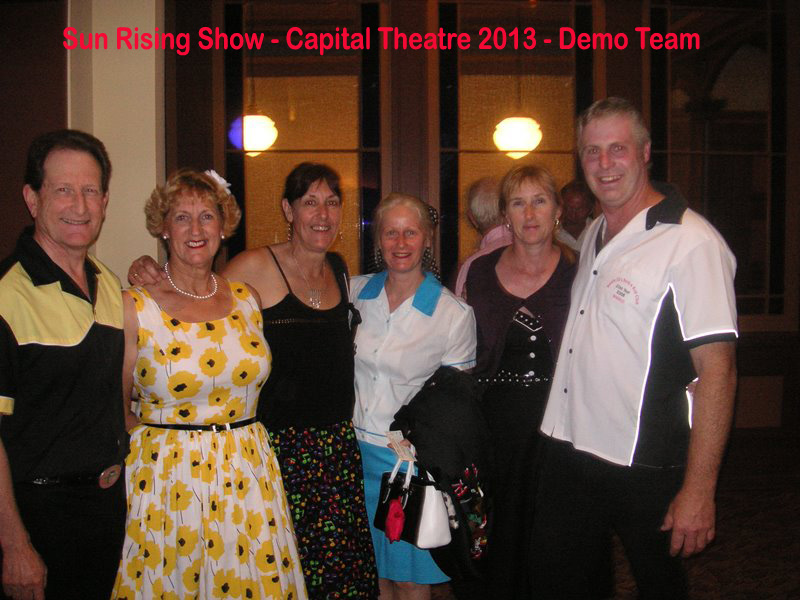 2013 Sun Rising Show at the Capital Theatre, Demo team